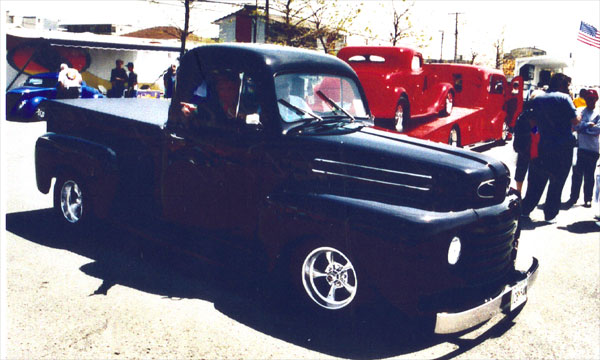 Ted and Judie Chilcoat – 1949 F1 Pickup
