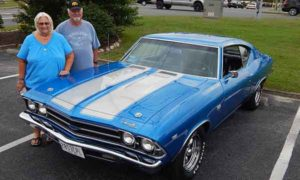 Tom & Paula Jensen | 1969 Chevelle