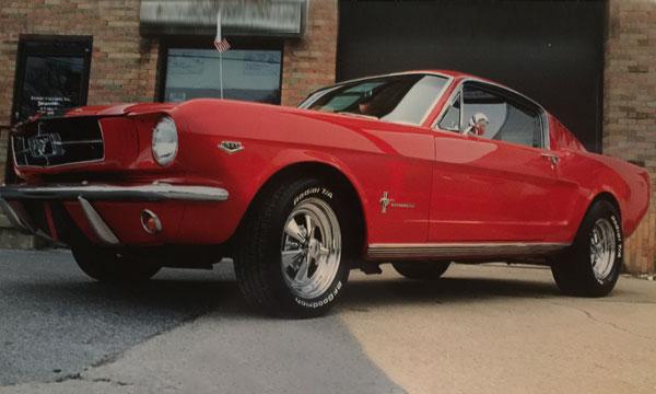 Tucker and Bonnie Ellis - 1965 Mustang
