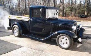 1934 Ford Pickup Sherwood & Edna Hearn