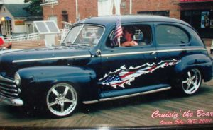 1947 ford tudor Dan and Becky Pulley