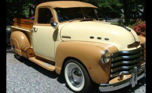 1951 Chevy Pick up - Dan and Becky Pulley