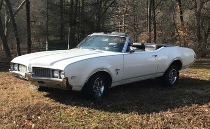 Jim and Susan Galloway - 1969 Olds Cutlass